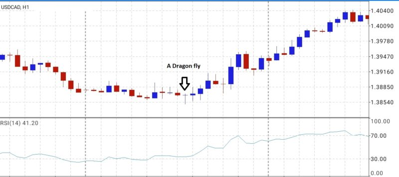 Dragon fly reversal pattern